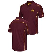 Minnesota Golden Gophers Mens Maroon Chiliwear合成Overtimeポロシャツ 3L レッド