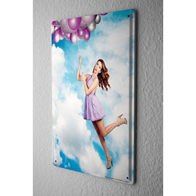 Tin Sign ブリキ看板 Jorgensen Photography Photo Images Model sky clouds balloons Pumps