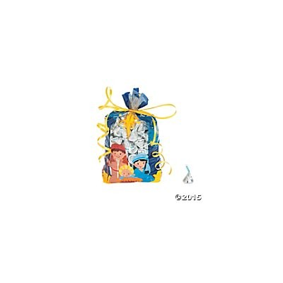 Nativity Cellophane Treat Bags Inspirational Pack of 12 by Toto