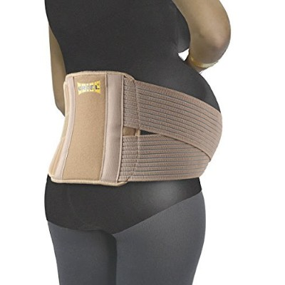 Meditex Maternity Belt - Breathable & Comfortable Pregnancy Support (Large/XL) by Uriel