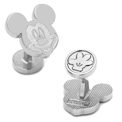 シルバーMickey Mouse Cufflinks