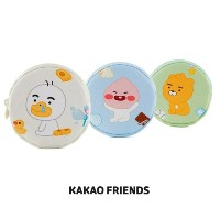 【Kakao friends】リトルフレンズ円型コインケース/Little friends circle shaped coin case/3種・KAKAO FRIENDS正規品