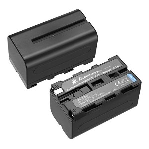 Powerextra 2パック交換用Sony np-f750 Battery for Sony NP - f730、np-f750、np-f760、NP - f770バッテリーとSony ccd...