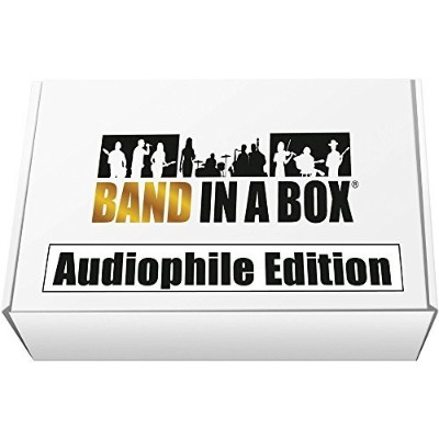 PG Music Band-in-a-Box 2017 Audiophile Edition (Win USB Hard Drive) [並行輸入品]