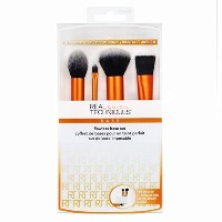 (メイクアップブラシ) Real Techniques Flawless Base Brush Set With Ultra Plush Custom Cut Synthetic Bristles..