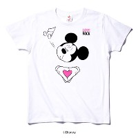 rockin'star★ Tシャツ HEART MICKEY [L]