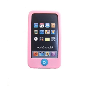 Msfort iPod Touch 2/3 【第2世代/第3世代】シリコンケース iPod Touch 2/3 Silicone Case (ライトピンク)