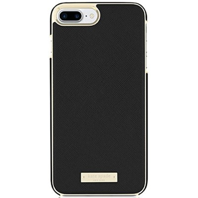 [ケイトスペード] KATE SPADE new york Saffiano Wrap Case for iPhone7 Plusアイフォン7プラスケース / Saffiano Black ...