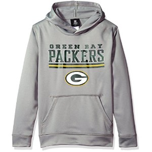 NFL Packersパフォーマンスフード–grey-m ( 10–12)
