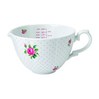 Royal Albert New Country Roses Baking Bliss Measuring Pitcher, 34-Ounce, White by Royal Albert