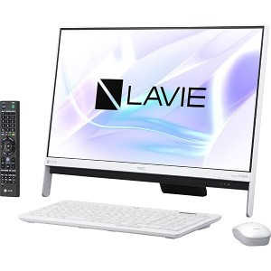 ※新品 NEC LAVIE Desk All-in-one DA370/HAW PC-DA370HAW [ファインホワイト].