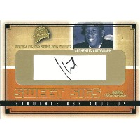 ミカエル・ピートラス NBAカード Mickael Pietrus 03/04 Fleer Showcase Sweet Sigs 351/800