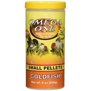 Omega One Goldfish Small Pellets 8oz by Omega One