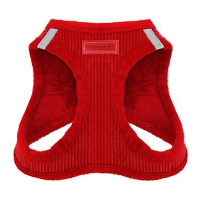 Best Pet Supplies 206-RDXL Corduroy Harness - Red