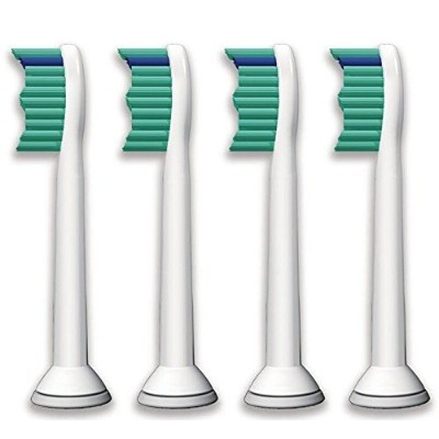 4pcs Electric Toothbrush Heads for Philips Sonicare Proresult Hx6530 Hx6014 Hx6013 by Ronsit [並行輸入品]