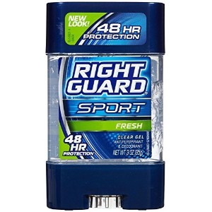 Right Guard Sport Clear Gel Antiperspirant, Active Fresh - 3 oz by Right Guard [並行輸入品]