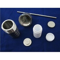 100ml,Teflon lined Hydrothermal Synthesis Autoclave Reactor,PTFE lined vessel (Customizable) by Gw ...