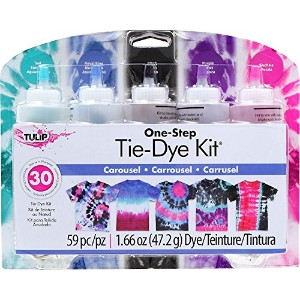 High Quality One-Step Tie Dye Kits Carousel