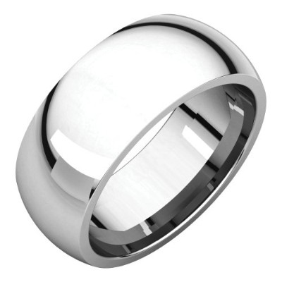 Beautiful White gold 18K White-gold Comfort Fit Band comes with a Free Jewelry Gift