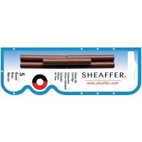 Sheaffer Refills Brown 5 Pack Fountain Pen Cartridge - SH-96360 by Sheaffer