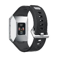 teepao for Fitbit Ionic帯、クラシック交換用アクセサリーWristbands for Fitbit Ionic Smart Watch ブラック 6025779930222