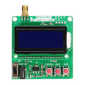 ILS - Digital Radio Frequency Power Meter -75~+16dBm Power Attenuation Can Be Set Ultra Small LCD...