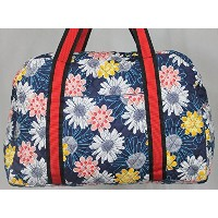 Haran and Ward Karmaヨガジムバッグin Floral PrintマルチカラーLarge Open Sideポケットto carryヨガマット