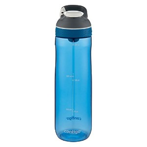 Contigo Cortland Water Bottle, 24-Ounce 水筒 680ml コバルトブルー