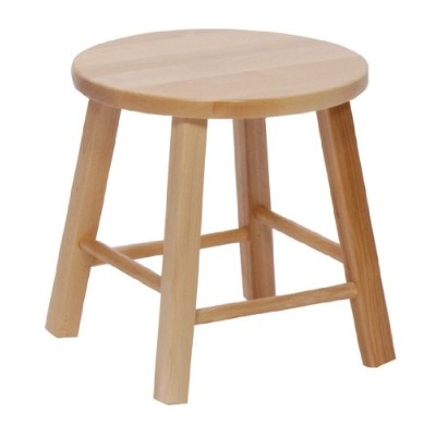 """Steffy Wood Products 12"""" Maple Stool"""
