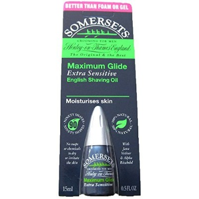 Somersets Extra Sensitive Shaving Oil, 15ml Bottles by Somersets