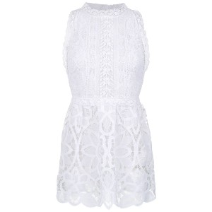Martha Medeiros lace dress - ホワイト