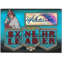 マイク・シュミット 2010 Topps Triple Threads Jersey Auto 2/3 Mike Schmidt