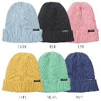 LUZ e SOMBRA/ルースイソンブラ ニットキャップ LIGHT TOUCH KNIT HAT f1814811