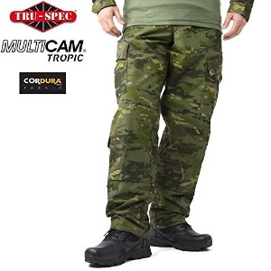 TRU-SPEC トゥルースペック Tactical Response Uniform パンツ MultiCam Tropic [1323] /tup020014104 (S-S,...