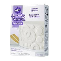 Wilton Decorator Preferred Fondant, 24-Ounce, White Vanilla by Wilton