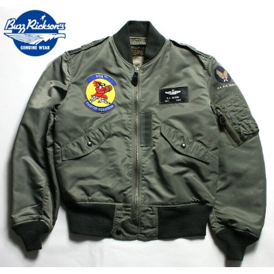 """No.BR14112 BUZZ RICKSON'S バズリクソンズType L-2B """"TOPS APPAREL MFG. CO. INC.""""334th FIGHTER SQ."""