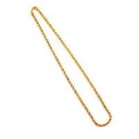 AF-NE-BR-039】≪75cm MIDDLE FRENCH ROPE CHAIN BLINGBLING NECKLACE≫ エースフラッグ ACEFLAG ブリンブリン ゴールドチェーン...