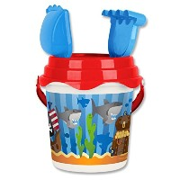 Stephen Joseph Beach Bucket-Pirate [並行輸入品]
