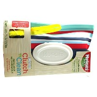 Huggies Natural Care Baby Wipes Clutch N Clean Carrying Case 32-Count - Color/Styles May Vary by...