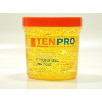 TENPRO PROFESSIONAL ARGAN OIL STYLING GEL MAX HOLD 16 oz. by Ten Pro [並行輸入品]