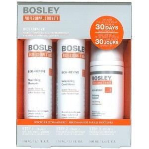 Bosley Revive Starter Pack for Visibly Thinning / Color-Treated Hair by Bosley [並行輸入品]