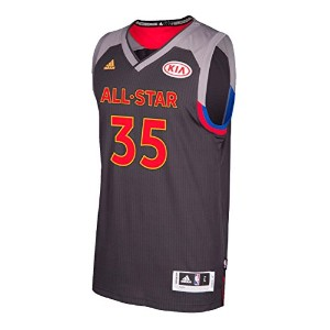 ケビンデュラントGolden State Warriors Adidas 2017 NBA All Star Swingman Jersey XL