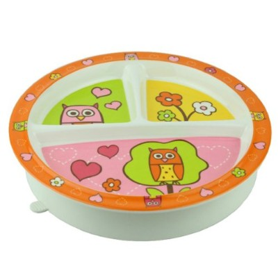 Sugarbooger Divided Suction Plate Hoot for 3 Months (Orange)