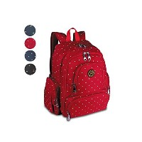 YuHan Baby Diaper Bag Travel Backpack Handbag Large Capacity Fit Stroller Red by YuHan