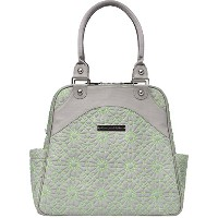 Petunia Pickle Bottom Sashay Satchel Diaper Bag in Covent Garden Stop, Grey by Petunia Pickle Bottom