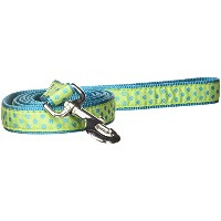 Pet Pals ZA8212 66 70 ESC Polka Dot Lead 6 Ft x 1 In Parrot Green P