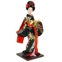 Japanese Traditional Doll Geisha人形アンティークJapanese Dolls [ N ]