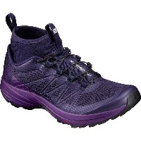 サロモン レディース ランニング スポーツ XA Enduro Trail Running Shoe Evening Blue/Grape Juice/Black
