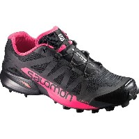 サロモン レディース ランニング スポーツ Speedcross Pro 2 Trail Running Shoe Black/Virtual Pink/Black