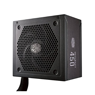 Cooler Master MW Semi-Modular 450W PC電源ユニット [80PLUS BRONZE] PS766 MPX-4501-AMAAB-JP